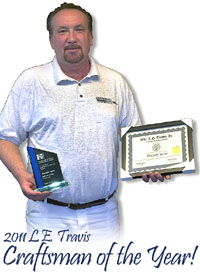 L.E. Travis 2011 Craftsman of the Year